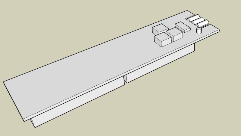 Google Sketchup Mockup of Remote
